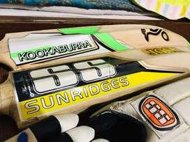 original BAT and full cricket kit