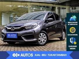[OLXAutos] Honda Brio 1.2 S M/T 2019 Abu - Abu