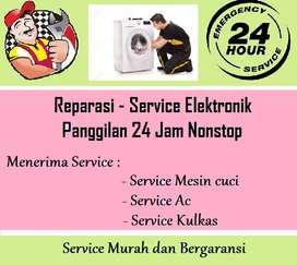 Panggilan service Mesin cuci (SAMSUNG SHARP) Kompor Kulkas | Pompa air