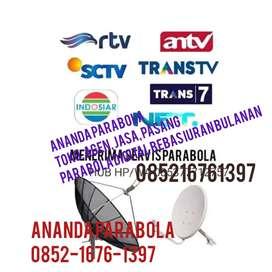 Jasa, service, perbaikan parabola dan antena tv digital bebas iuran