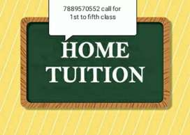 HOME TUTOR AVAILABLE FOR 1ST TO 5TH CLASS IN JAMMU CITY