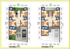Dijual Rumah Kost S 11 Kamar Murah  Siap Bangun Kota Jogja