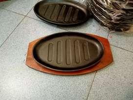 Hot Plate Steak Oval dan Sapi