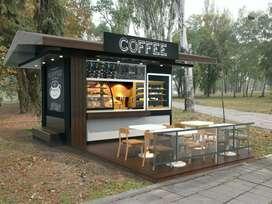 Kedai kopi outdor