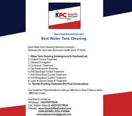 Fumigation Rat Bed bug Cockroach Termite Pest Control Water Tank Clean