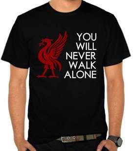 T-Shirt Distro Liverpool FC - YNWA