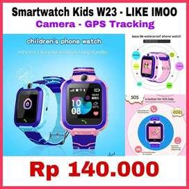 Smartwatch Kids W23 - Jam anak pintar bisa GPS dan Telepon