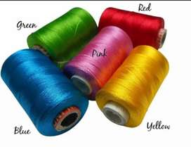 Silk Thread 5 Pieces