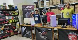 Pusat PC Komputer  Cash Kredit TukarTambah Gaming Editing Render