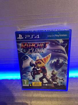 Ratchet Clank - PS4 not used