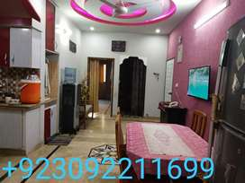 3 bed drawing lounge attched bath American kitchen.