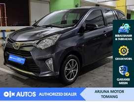 [OLX Autos] Toyota Calya 2017 1.2 G A/T Bensin Abu-abu #Arjuna Tomang