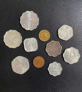 Old coins collection