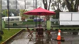 Payung jati mewah murah. Ready stock Palembang