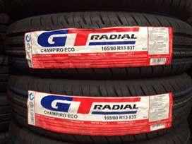 BAN GT RADIAL 165/80 R13 CHAMPIRO ECO