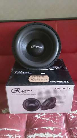 "Subwoofer 12"" Rogers SW-3001SX Alpine Punya by STEVE VARIASI OLX"