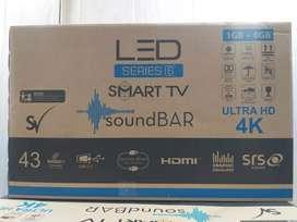 40 Smart Inbuilt Sound Bar 4K 1 GB 8 GB 2 Yr written Grantee GST Bill