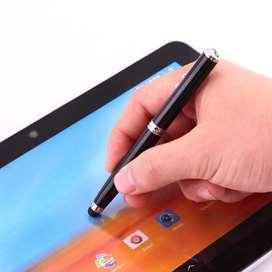 LCD Touch = Pena ~ stylus ~ Laser ~ LED Lampu #PRAKTIS