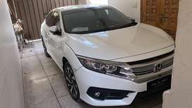Civic 2018 new shape red meter