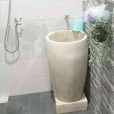bak mandi marmer Terasso untuk rumah hotel cafe resto