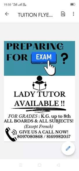 Available tutor to teach All subjects