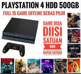 PS4 Fat 500GB BONUS 15 game Terbaik bebas pilih Mrh Mantap