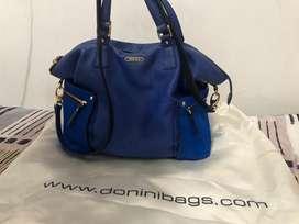 Preloved Donini Rufina Grande - Biru Bulu Kuda