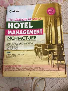 Hotel Management NCHMCT-Jee Entrance Exam Book (2018 Edition)