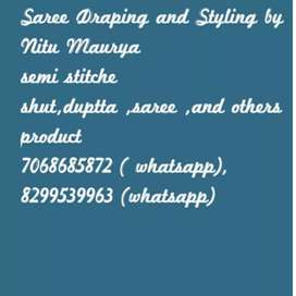 Saree , semi stitch shut,dipta,and other products