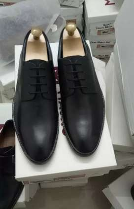 (ship from Gujarat only) genuine leather shoe hand made .cod available