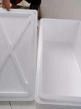 Sterofoam Kotak untuk ternak Cupang Guppy ikan