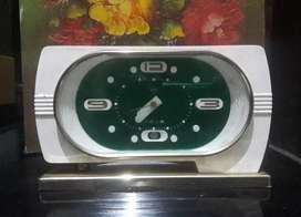 Jam meja antik jadul DIAMOND diputar tanpa batery koleksi vintage rare