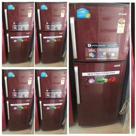 Maroon colour 250 liter double door
