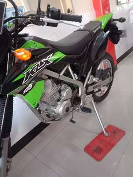 Kawasaki KLX tipe G thn 2017 barang bagus