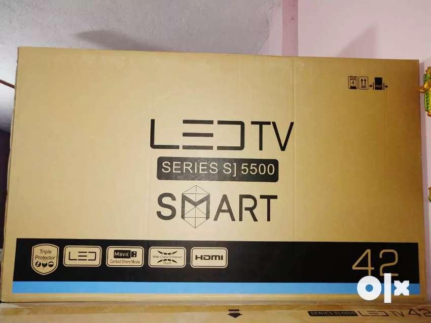 "Stabilizer free new aiwa 42""smart led tv 0"