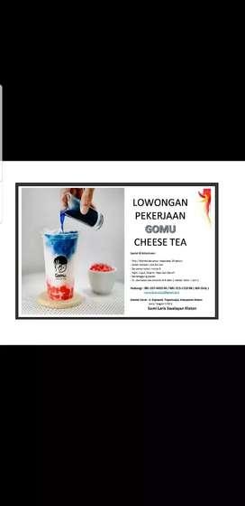 Penjaga Minuman Cheese Tea