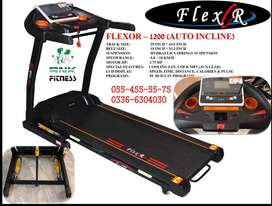 Motorized Treadmill Flexor 1200 Heavy Duty Brand New Box Pack