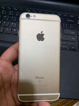 Iphone 6s 100 percent battery health golden color no box only lead