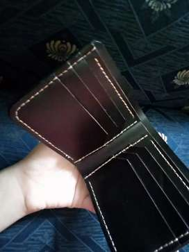 Genuine Cow Leather wallet for men.