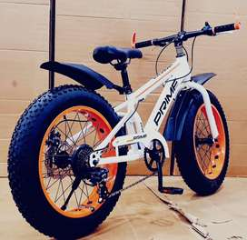 Brand new prime fat tyre cycle