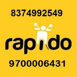 Rapido Daily Payment Bike Auto Free Joining