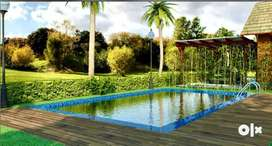 Bunglow with private swimming pool at fabulous price