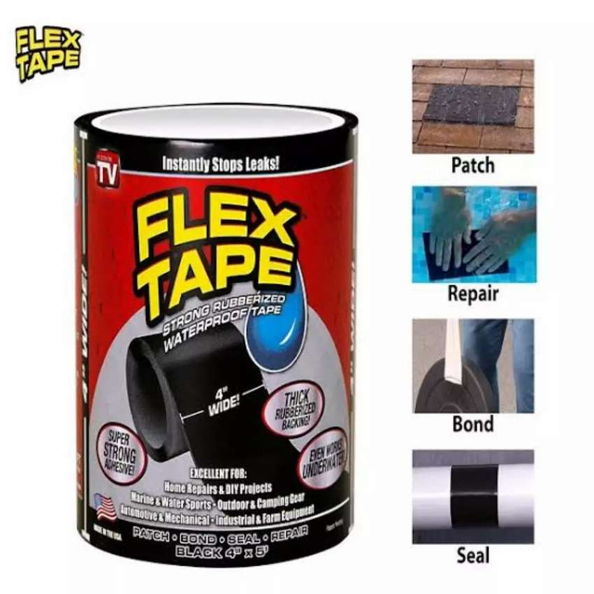 Flex Tape Super Strong Rubberized Water Proof Tape 0