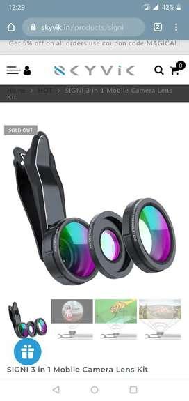 3 in 1 Skyvik Mobile Lenses