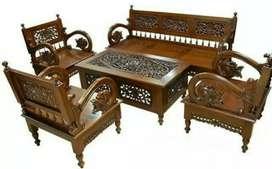Kursi tamu arimbi murah jati (meja makan/rias/kantor,furniture)