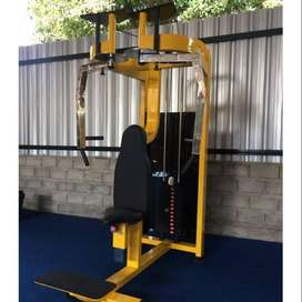 Alat fitnes butterfly peck deck and back 2in1 machine