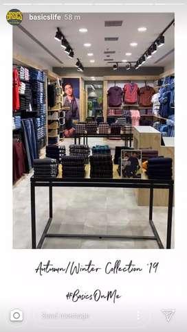 Sales staff for Gents wear n ladies wear