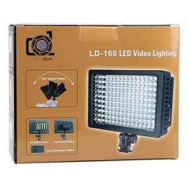 Lighting Kamera Dslr 160 Led - Black