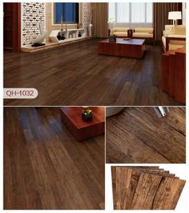 Wood texture 2mm vinyl wooden floors with 25 colors.