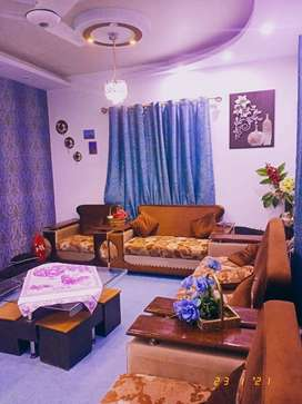 Newly Constructed 3 Bed Drawing Lounge At Prime Location Of Nazimabad